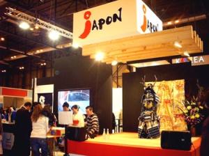 Kokeshi en Stand Japon